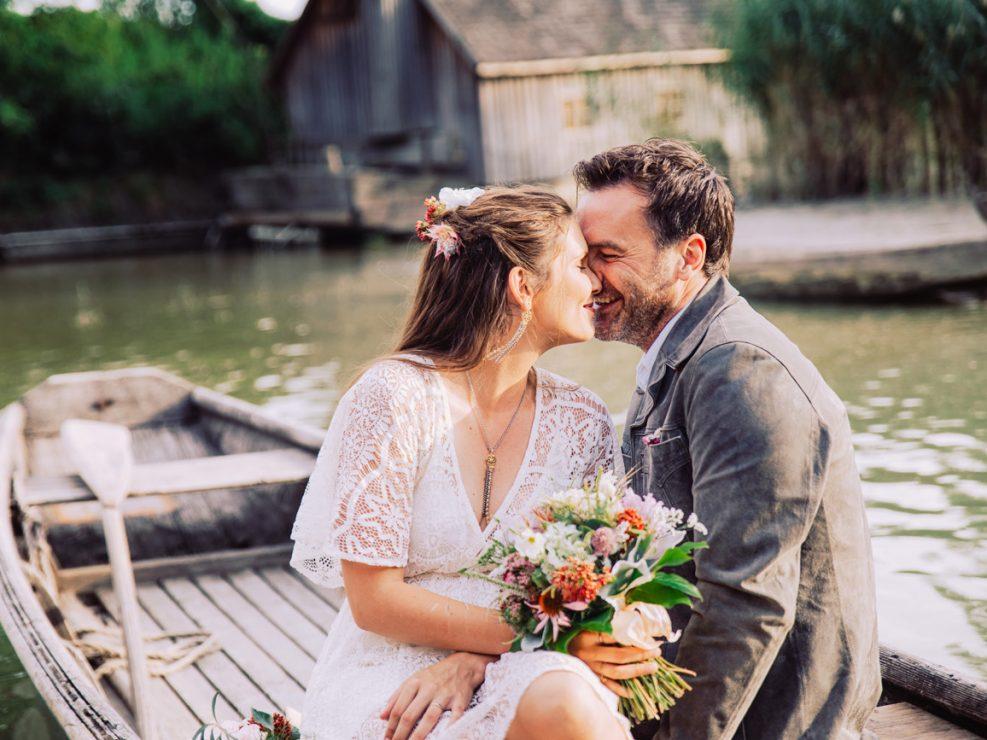 Styled Shoot - Angie & Herbert - Hochzeit im Boho Stil
